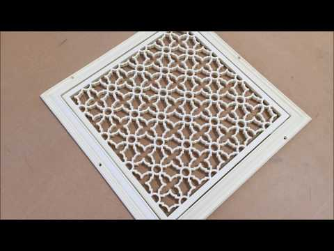 Majestic Vent Covers - Heritage Decorative Grille