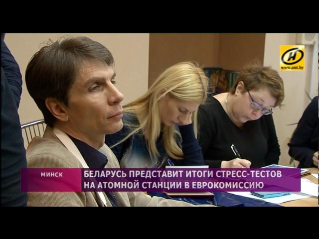 Беларусь представит итоги стресс-тестов на АЭС в Еврокомиссию