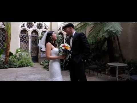 Emotional Church Wedding {bride and groom are so in love!} | Berkeley City Club, Berkeley, CA