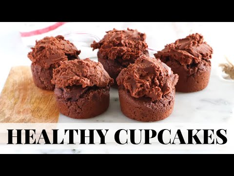 HEALTHY CHOCOLATE CUPCAKES: easy paleo recipe