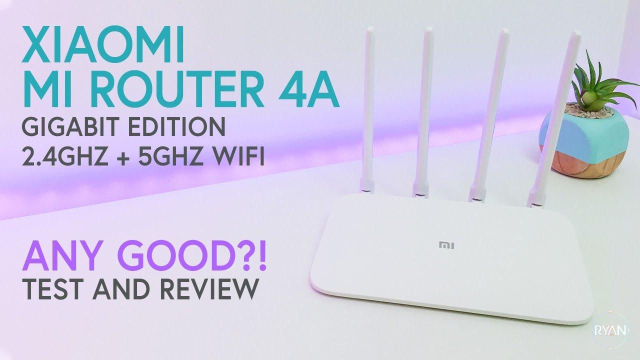 Xiaomi Mi 4A Wireless Router Gigabit Edition 2 4GHz + 5GHz WiFi High Gain 4  Antenna Support IPv6