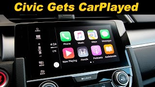 2016 Honda Civic Infotainment Review With CarPlay & Android Auto