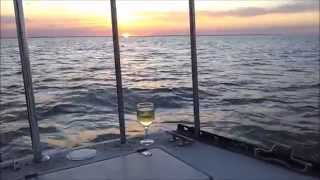 Sailing Lynx at South Padre Island May 2015 - 36' PDQ with Laguna Charters