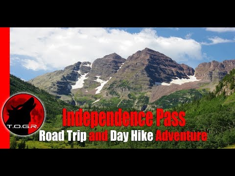 Independence Pass Colorado - Road Trip and Day Hike Adventure