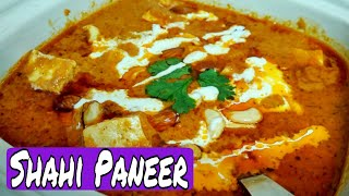 SHAHI PANEER RECIPE/ Restaurant style , with very easy steps /*By Zaika e Lucknow*