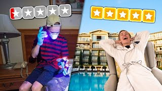 Staying at Worst VS Best Hotels in my City!