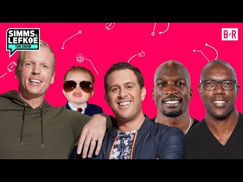Ochocinco & Terrell Owens Talk S--t Over Who Was the Better WR | Simms & Lefkoe S1E8