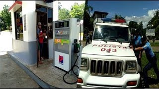 ACTUAL VIDEO! HOST@GE T@KING SA PETRON GAS STATION | CEREX DRILL
