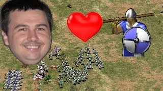 AoE2 - Daut Loves Skirms [Classic Game]