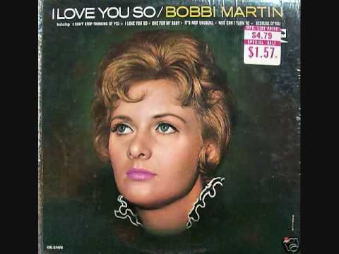Bobbi Martin - I Can't Stop Thinking Of You (1965)