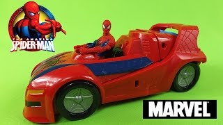 The Amazing Spiderman With Super Car Toys (Full HD)