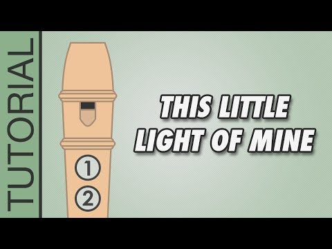 This Little Light of Mine - Recorder Notes Tutorial