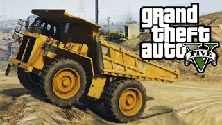 GTA 5 - Dump Truck Mudding & Hill Climbing - 4x4 Off-Roading (GTA V Next Gen)