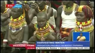 Harvesting underground water in Turkana