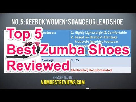 Top 5 Best Shoes for Zumba Dance Workouts Reviewed