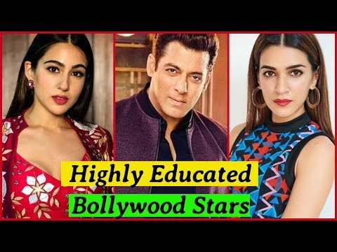 10 Most Educated Bollywood Actors and Actress