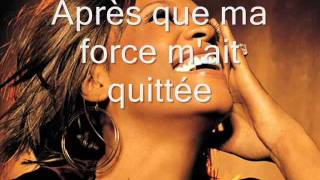 Whitney Houston  Hommage  I look to you (traduction en français).wmv
