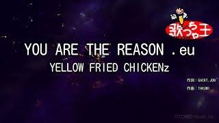 【カラオケ】YOU ARE THE REASON .eu/YELLOW FRIED CHICKENz