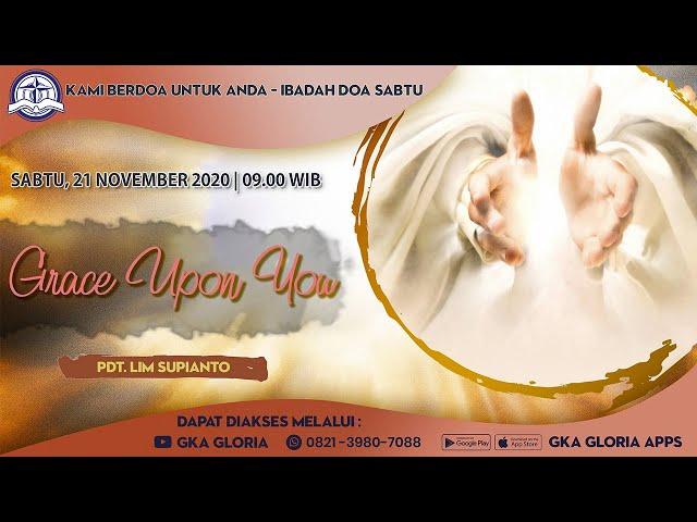 Kami Berdoa Untuk Anda - 21 Nopember 2020 - Pdt. Lim Supianto