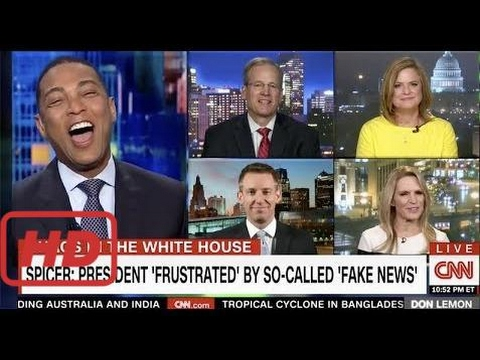 Don Lemon Bursts Into Laughter while reading Trump's cringeworthy 'magnetic personality' statement