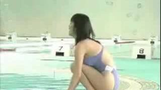 島本里沙 巨乳 競泳水着 Busty Swimmer 島本里沙 検索動画 1