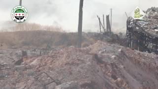Тяжёлые между боевиками и САА бои в Алеппо