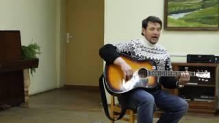 Библиотека филиал №7 выступление автора исполнителя народного клуба авторской песни Серебряные струн