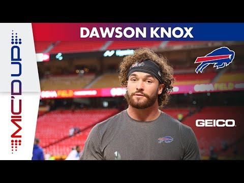Dawson Knox Mic'd Up in Sunday Night Win in Kansas City! | Buffalo Bills