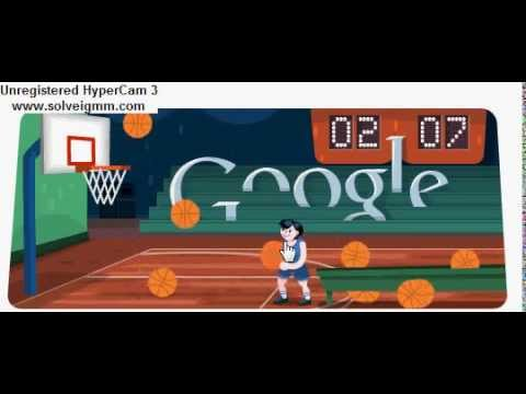 ddfbb160addc google doodle-basketball 2012 - YouTube