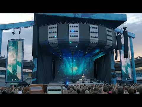 Ed Sheeran - I See Fire (Live) Sweden Gothenburg Ullevi 10 Juli (4K)