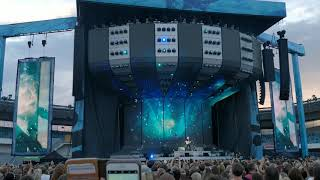 Ed Sheeran - I See Fire (Live) Sweden Gothenburg Ullevi 10 Juli (4K)