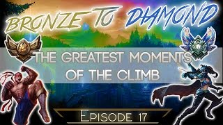 Remembering my climb from Bronze V to Diamond (Best Moments)