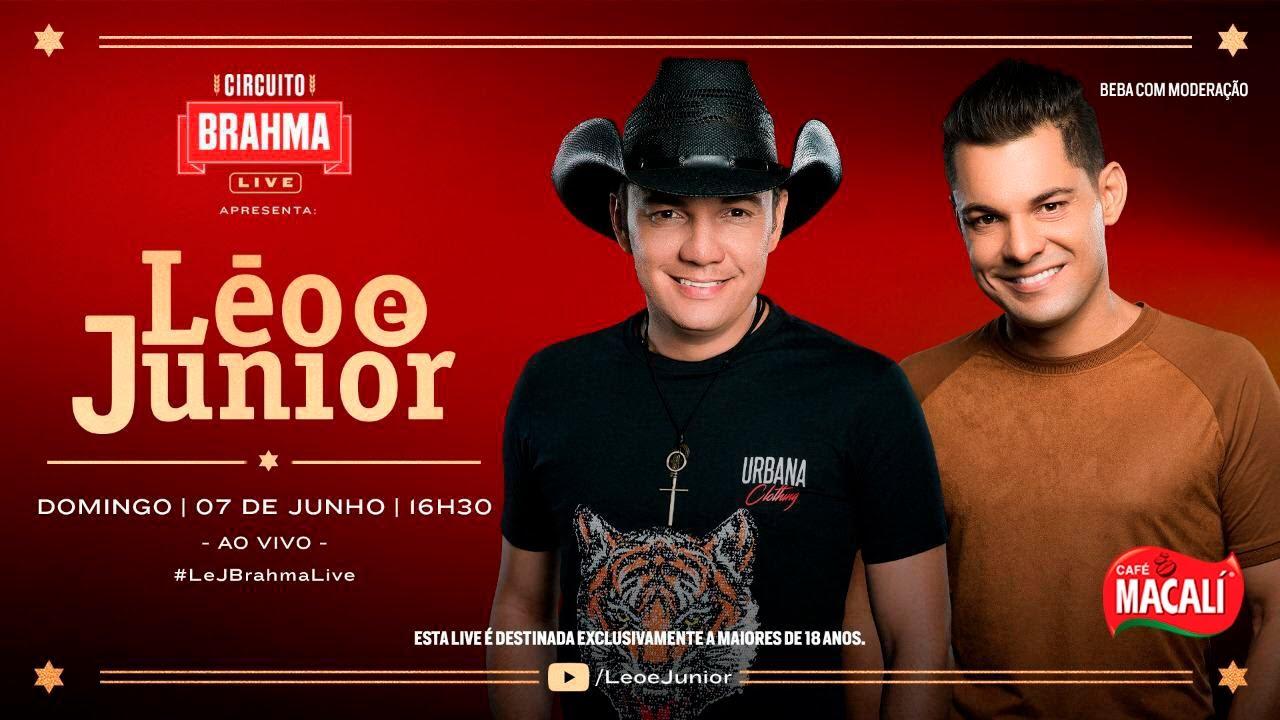 Live Juninão Lá Em Casa | Leo & Junior | #FiqueEmCasa e Cante #Comigo