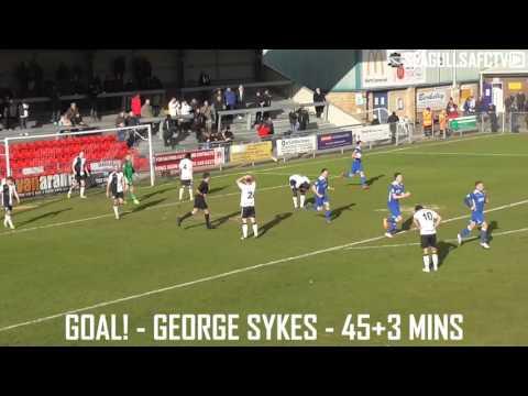 Weston-super-Mare 2-1 Dartford - Goals