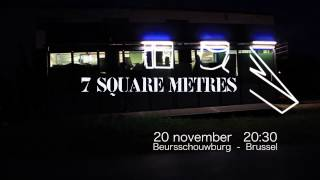 7 square meters trailer by karl philips