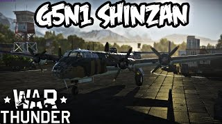 War Thunder Squad Gameplay - G5n1 Shinzan - Realistic Battle - Tiki Bar & Base Hunting