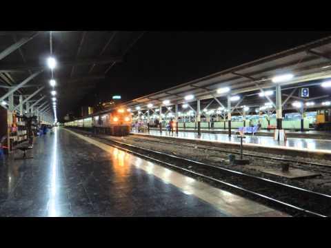 รถไฟไทย # ขบวนรถเร็วที่ 133 กรุงเทพฯ - หนองคาย  State Railway of Thailand