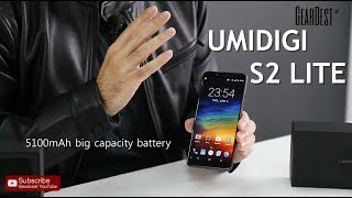 UMIDIGI S2 Lite Android smartphone with Big Battery and bezel-less edges - GearBest