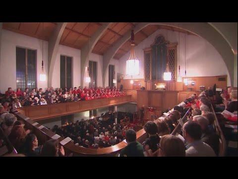 Cyngerdd Eglwys Jewin, Llundain 2016