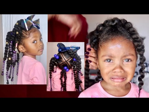 How To: Toddler/Kid Friendly Marley Twist Extensions