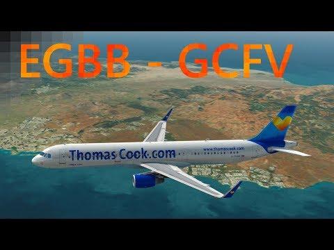 New Aerosoft A321 professional! | Birmingham - Fuerteventura | P3D V4 3 |  Thomas Cook