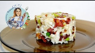 САЛАТ С РЕДЬКОЙ И КОЛБАСОЙ! Быстрый, простой и вкусный рецепт салата.