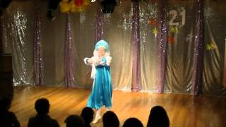 Школа танцев для детей видео выступление Русский народный танец 2(Денисова Виктория