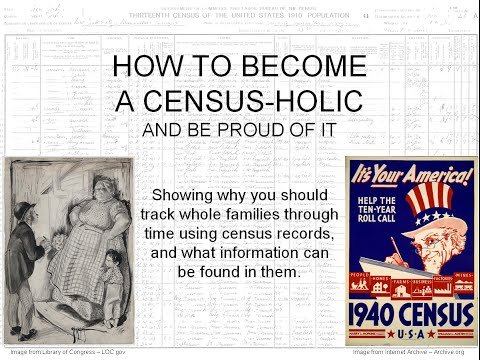 Census Records and Genealogy Research - LIVE
