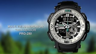 OFFICIAL VIDEO ~ PRG-280 ProTrek by CASIO ~ LovinLife Multimedia(TOKYO, July 28, 2014 — Casio Computer Co., Ltd. announced today the release of the PRG-280, a new model in its PRO TREK line of outdoor watches., 2014-07-28T19:41:39.000Z)