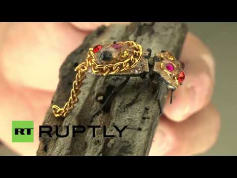 Mexico: See the blinged-out beetles worn as living, breathing jewellery