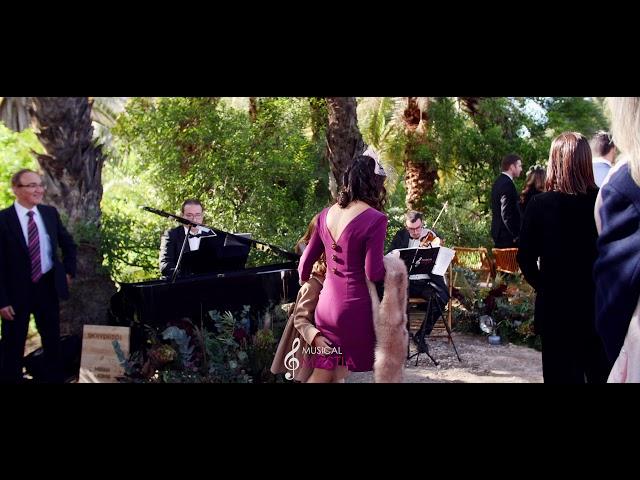 Entrada de la novia | La Vida es Bella | La Boda de Miriam Alegria | Miriam Alegria