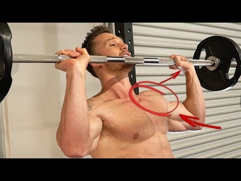 The Best Shoulder Workout For Slimming Down & Burning Fat - Barbell Shoulder Routine