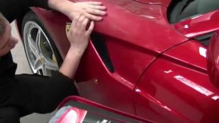 Swissvax Detailing Ferrari 599 Crystal Rock