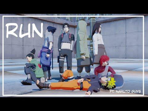 【MMD】Run Ft.Naruto Guys (Motion DL)